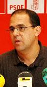 El secretario general de la agrupación local del PSOE, Alfredo Losada