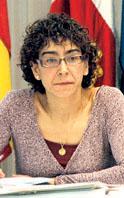 La concejala de Cultura de Medina del Campo, Silvia Pérez.