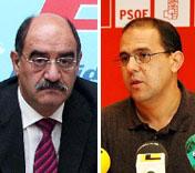 Crescencio Martín Pascual y Alfredo Losada