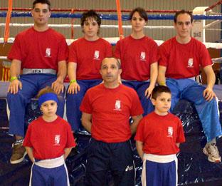 Este grupo de valientes medinenses triunfó en el campeonato Nacional representando a Castilla y León