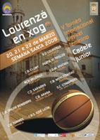 Cartel oficial del Torneo de Basket Femenino