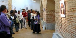 Un momento de la inauguración de la exposición Mujeres Republicanas en la Guerra Civil, en el Centro Cultural Integrado.