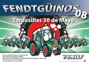 Cartel oficial de la concentración de tractores Fendt