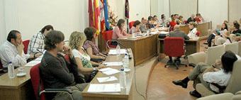 Imagen de un reciente Pleno de la Corporación Municipal de Medina del Campo.