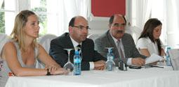 Castromonte, Alcántara, Martín Pascual y García, ayer en el Balneario.