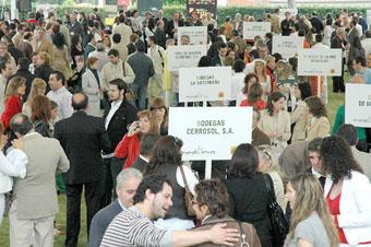 32 bodegas estuvieron presentes en la carpa instalada en el Palacio Balneario de Las Salinas.
