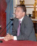 Javier Aguado, pregonero de las Fiestas de San Antolín 2008