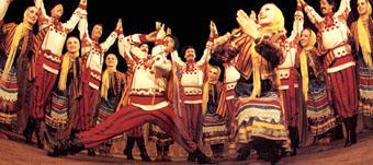 Actuación del Ballet Nacional de Rusia en 'Los Viajes de Marco Polo'